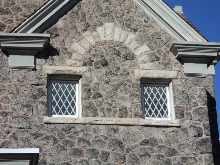 Limestone garden walls